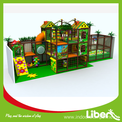 Daycare indoor playground equipment