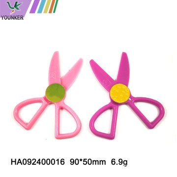 Plastic student scissors stationery office scissors