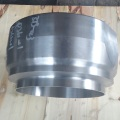 Piston cap sealed plug housing hydraulic strainer cover
