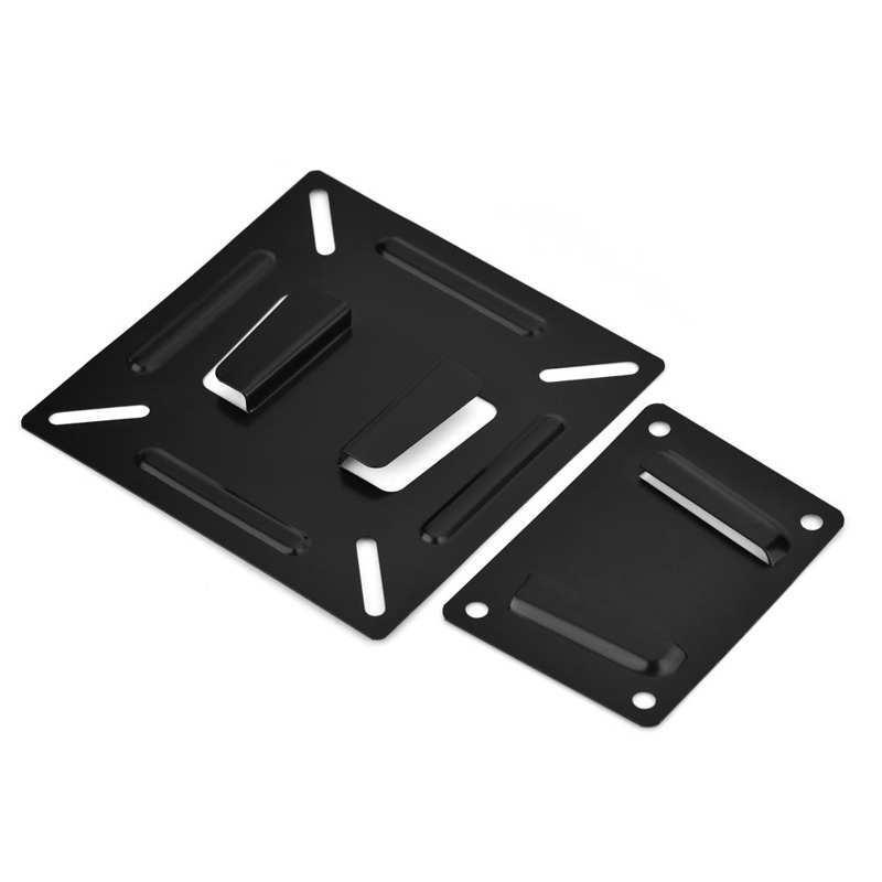 Universal TV Mount Wall-mounted Fixed Flat Panel Bracket Holder for 14-26 Inch LCD LED Monitor TV Frame VESA 75/100 LCD LED TV