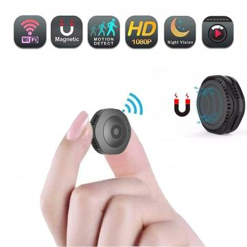 Mini WiFi Camera Wireless HD 1080P Portable Home Security Small Secret Cam with Motion Activated/Night Vision hidden Espion