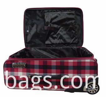 Large capacity softside luggage