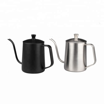 Stainless Steel Long Narrow Spout Coffee Pot