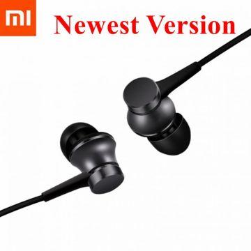 Original Xiaomi Earphone Mi Piston 3 Fresh Version In-Ear with Mic Wire Control for mobile phone xiaomi telephone headset