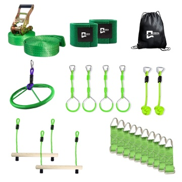 Slack line Monkey Bars Kit
