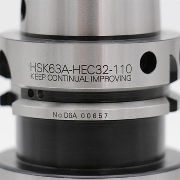 High Precision HSK63A-HEC32-110 Power Milling Chucks
