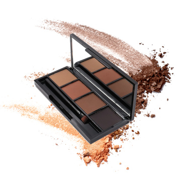 4 colour eyebrow powder pressed makeup eyebrow kit