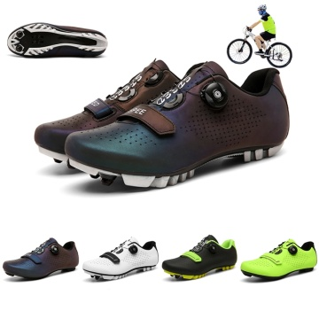 Lightweight Mountain Bike Cycling Shoes Professional SPD Cleat Bicycle Shoes Outdoor Athletic Racing Road Cycling Sneakers Men