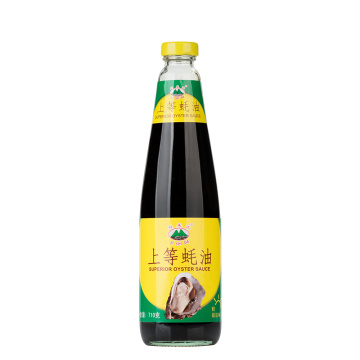 high quality oyster sauce glass bottle 700g