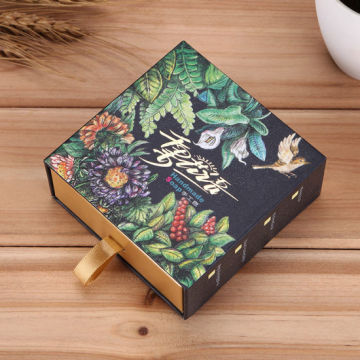 Handmade Drawer Kraft Paper Box for Soap