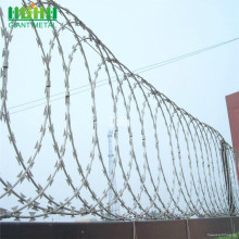 Galvanized Sharp Razor Wire Double Barbed Wire