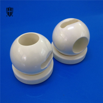 fluid pressure zirconia ceramic ball body valve