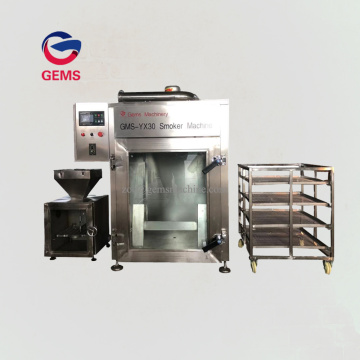 Stainless Steel Barbecue Meat Smoker Machine Halal Products