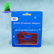 long hooks creative Christmas tree ornament hanger