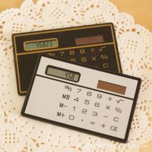 jakcom Calculator Ultra Thin Mini Credit Card Sized 8-Digit Portable Solar Powered Pocket Calculator