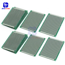 diymore 10PCS/Lot 7 x 5cm Double Sided PCB Universal Prototyping Printed Circuits Board FR4 PCB Board