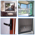 Roll-up Mosquito Fly Insect Fireproof Screen Windows
