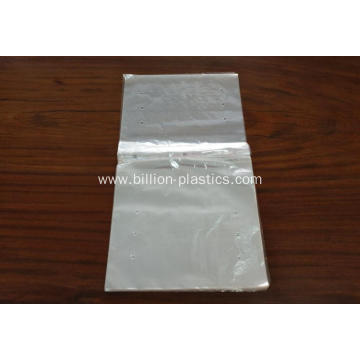 Clear Plastic Calendar Bag