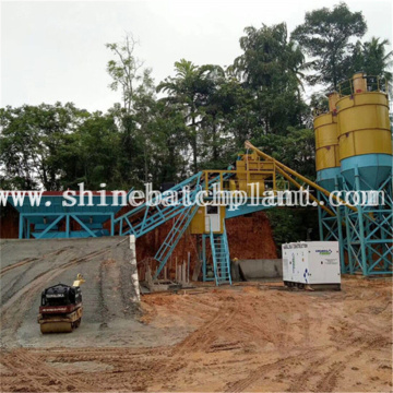 75 Wet Removable Concrete Batching Plant