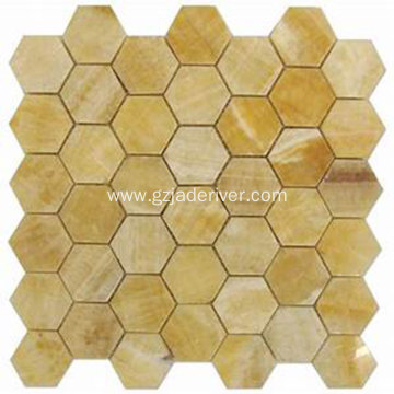 Hexagon Mosaic Stone for Bathroom