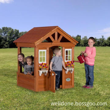 children wooden playhouse