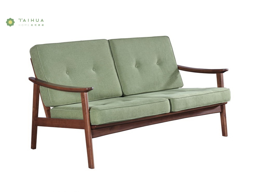 Green Two Seater Sofa