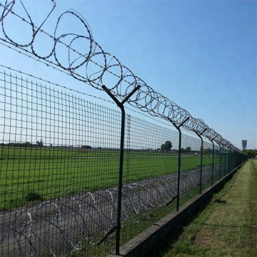 Hot sale anti climb airport fence