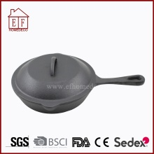Cast iron cookware egg skillet pan