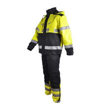 Mans Fireproof Welder Work Safety Fire Suit