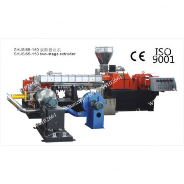 Plastic Film Pelletizing Extrusion Machinery