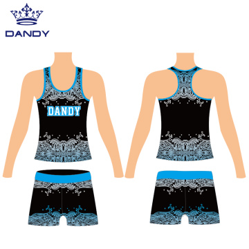 Custom cheerleader practice outfits