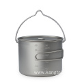 TITANIUM 1300ML POT WITH PAN