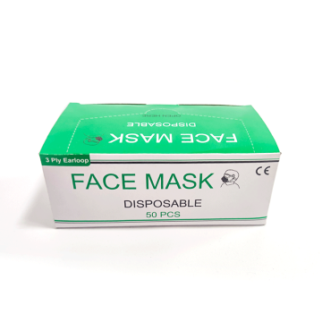 Disposable 3ply 3 ply Faceshield Face Mask