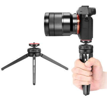 Neewer Mini Tabletop Tripod Stabilizer Grip, Lightweight Portable Aluminum Alloy Stand for DSLR Cameras, Smartphones,Video