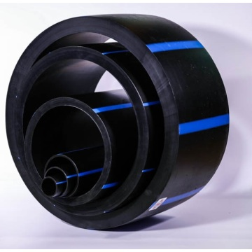 HDPE pipe for water drainage and supply