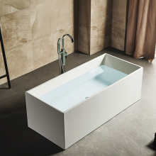 One Person Soaking Freestanding Acrylic Bathtub