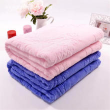 Higt Quality Pink 70x140cm Towel Coverlet