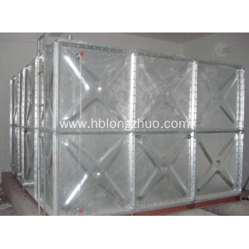 Metal Water Tanks Galvanized Steel Pressed Water Storage Tank