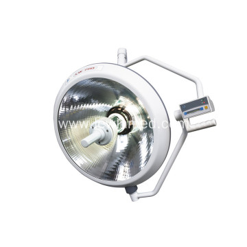 Ceiling mounted double single dome halogen operating lamp