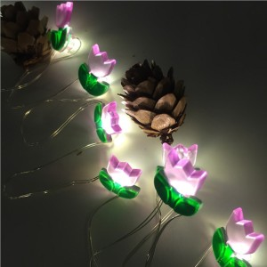 Led Fairy Light with Flower