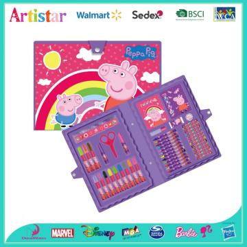 PEPPA PIG 45pieces coloring art set
