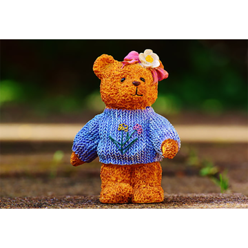 High Quality Cute Knitted Bear