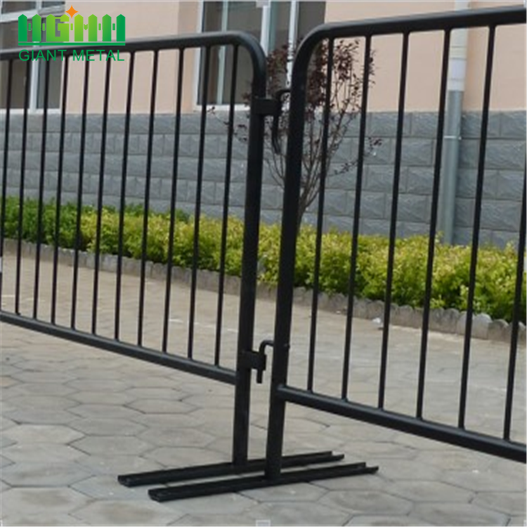 Temporary Welded Construction Safety Barriers of Metal Fence