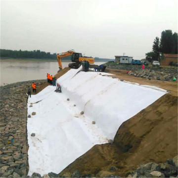 Isolation Soil Sand  PP Short Fiber Geotextile