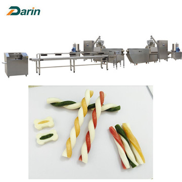 Darin pet dog food treats making machinery