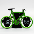 Mini Colorful Bicycle Table Flip Clock