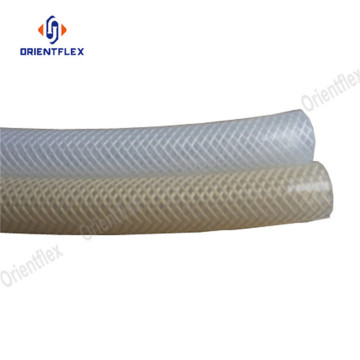 Various sizes heavy duty silicone fiber braided tubing