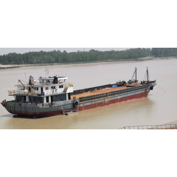 1700T Self-Propelled Deck Barge With Rampdoor