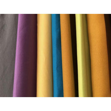 100% polyester microfiber dyed fabrics
