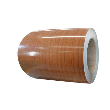 PVC film laminated wood grain steel